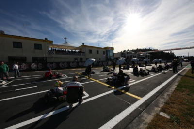 ALL SET IN LA CONCA FOR THE THIRD ROUND OF WSK SUPER MASTER SERIES ON MARCH 8TH