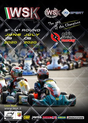 INTERNATIONAL KARTING RESUMES FROM WSK SUPER MASTER SERIES IN ADRIA Gallery