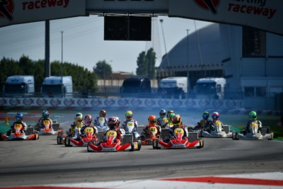 QUALIFYING OF WSK SUPER MASTER SERIES KICKED OFF IN ADRIA Gallery