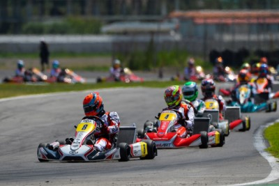 SPECTACLE AT THE WSK EURO SERIES  IN SARNO Gallery