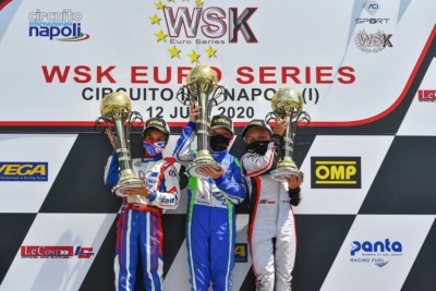 WSK EURO SERIES, THE SITUATION AFTER ROUND 1