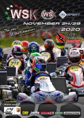 SUBSCRIPTIONS ACCEPTED FOR THE WSK OPEN CUP IN ADRIA Gallery
