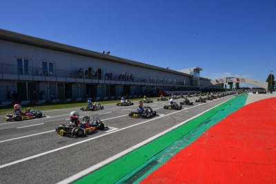The WSK Open Cup kicks off in Adria Gallery