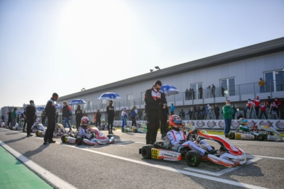 ALL IS SET IN ADRIA FOR THE WSK SUPER MASTER SERIES