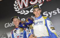 KODRIC (HR � FA KART-VORTEX KF) AND THOMPSON (CDN � ENERGY-TM KFJ) CLINCH THE SUPERPOLE AT THE WSK EURO SERIES OF SARNO (I) . HANLEY (GB � ART GP-TM KZ1), NEGRO (I � DR-TM KZ2) AND PAGANO (I � TOP KART-PARILLA 60MINI) IN POLE POSITION.