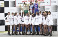IN THE WSK EURO SERIES LAMMERS (NL - INTREPID-TM KZ1), ZANCHETTA (I - MARANELLO-TM KZ2), BOCCOLACCI (F - ENERGY-TM KF), LORANDI (I - TONY KART-PARILLA KFJ) AND KOSTANTINOS (GR � HERO-LKE) ARE THE WINNERS OF THE THIRD ROUND IN SARNO (ITALY).