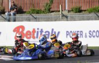 THE KZ2 FINAL OF THE WSK MASTER SERIES IN PRECENICCO (ITALY) GOES TO HAJEK (CZ �PRAGA -PARILLA). TICKTUM (GB � FA KART-VORTEX KFJ), BOCCOLACCI (F - ENERGY-TM KF) AND MARTINEZ (E � HERO-LKE 60 MINI) ARE THE BEST IN THE HEATS.