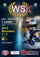 THE 2013 WSK SEASON ENDS IN ITALY WITH THE WSK FINAL CUP IN CASTELLETTO DI BRANDUZZO. THE FINALS OF THE EVENT ARE ON SCHEDULE FOR NEXT 3RD NOVEMBER AND ARE RESERVED TO THE KZ2, KF, KFJ AND 60 MINI CATEGORIES.