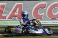 RACES STARTED IN THE WSK CHAMPIONS CUP. NIELSEN (DK � KOSMIC-VORTEX) AND FUSCO (I � LENZO-LKE) DOMINATE THE  HEATS IN KF AND 60 MINI. DUEL BETWEEN ARDIG� AND CAMPONESCHI (I � TONY KART-VORTEX) IN KZ2, AND AMONG MANY DRIVERS IN KFJ.
