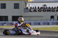 THE WINNERS OF THE WSK CHAMPIONS CUP OF LA CONCA ARE  LORANDI (I � TONY KART-TM) IN KF, HANLEY (GB � ARTGP-TM) IN KZ2, AHMED (GB � FA KART-VORTEX) IN KFJ AND FUSCO (I � LENZO KART-LKE) IN THE 60 MINI.