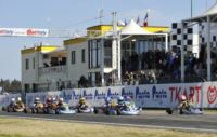 THE WSK CHAMPIONS CUP IN MURO LECCESE POLE SITTERS:  ARDIG� (I � TONY-VORTEX) IN KZ2, MAZEPIN (RUS � TONY-VORTEX) AND NIELSEN (DK � KOSMIC-VORTEX) IN KF, SERRAVALLE (CDN � TONY-LKE) AND DALKIRAN (TR - TOP-PARILLA) IN 60MINI.