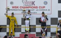 IN THE FINAL WSK CHAMPIONS CUP ROUND IN MURO LECCESE THE VICTORY GOES TO PEX (NL � CRG-TM KZ2), BASZ (PL � TONY-VORTEX KF), FEWTRELL (GB � FA KART-VORTEX KF JUNIOR) AND GAFAR (MAL � HERO-LKE 60MINI).