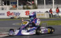 THE BEST PERFORMANCES IN THE WSK SUPER MASTER SERIES IN SARNO (ITALY) ARE ACHIEVED BY CAMPONESCHI (I - TONY KART-VORTEX KZ2), NIELSEN (DK � KOSMIC-VORTEX KF), FUSCO (I � LENZO-LKE 60 MINI), FEWTRELL AND AHMED (GB � FA -VORTEX KFJ).