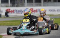 THE LEADERS OF THE WSK SUPER MASTER SERIES STANDINGS ARE LAMMERS (NL � FK-PARILLA KZ2), BASZ (PL � TONY-VORTEX KF), TICKTUM (GB � ZANARDI-PARILLA KFJ) AND SZYSZKO (PL � TONY-LKE 60MINI).