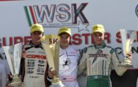 IN MURO LECCESE (I) THE WINNERS OF THE FINALS AND OF THE WSK SUPER MASTER SERIES ARE ARDIG� (TONY -VORTEX KZ2), ILOTT (ZANARDI-PARILLA KF), AHMED (FA-VORTEX FJ) AND  ABRUSCI (TONY-LKE 60 MINI).