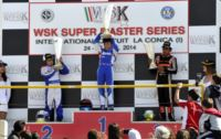 IN MURO LECCESE (I) THE WINNERS OF THE FINALS AND OF THE WSK SUPER MASTER SERIES ARE ARDIGÒ (TONY -VORTEX KZ2), ILOTT (ZANARDI-PARILLA KF), AHMED (FA-VORTEX FJ) AND  ABRUSCI (TONY-LKE 60 MINI). Gallery
