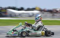 THE WSK SUPER MASTER SERIES HAS ITS WINNERS: ARDIG� (TONY KART-VORTEX KZ2), ILOTT (ZANARDI-PARILLA KF), AHMED (FA KART-VORTEX FJ) AND ABRUSCI (TONY KART-LKE 60 MINI).