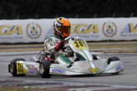 WSK CHAMPIONS CUP GAVE THE START TO THE SEASON 2015 IN LA CONCA. BALE (GB � FA ALONSO-VORTEX KF) AND LUNDGAARD (DK � TONY KART-VORTEX KFJ) WAS THE FASTEST TODAY