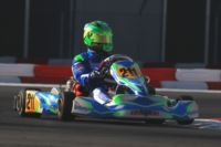 IN THE WSK GOLD CUP AT THE ADRIA KARTING RACEWAY, POLE POSITIONS FOR CAMPONESCHI (I – TONY KART-VORTEX KZ2), LORANDI (I - TONY KART-VORTEX KF) AND NOVALAK (GB - TONY KART-VORTEX KFJ). MARSEGLIA (I – CRG-LKE) LEADS IN THE FREE PRACTICE OF THE 60 MINI. Gallery