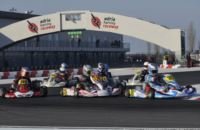 OVER 200 ENTRANTS TO THE WSK SUPER MASTER SERIES. THE FIRST OUT OF FOUR ROUNDS OF THE EVENT IN SCHEDULE FOR NEXT WEEKEND AT THE ADRIA KARTING RACEWAY.