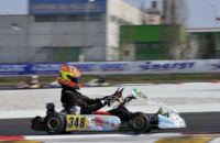 200 ENTRANTS TO THE WSK SUPER MASTER SERIES IN ADRIA (ITALY). THE FASTEST DRIVERS IN TODAY�S QUALIFYING WERE  ARDIG� (I - TONY KART-VORTEX KZ2), NIELSEN (DK - TONY KART-VORTEX KF) AND COLOMBO (I - TONY KART-LKE).