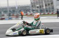 200 ENTRANTS TO THE WSK SUPER MASTER SERIES IN ADRIA (ITALY). THE FASTEST DRIVERS IN TODAY'S QUALIFYING WERE  ARDIGÒ (I - TONY KART-VORTEX KZ2), NIELSEN (DK - TONY KART-VORTEX KF) AND COLOMBO (I - TONY KART-LKE). Gallery