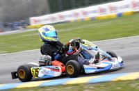 WSK SUPER MASTER SERIES IN CASTELLETTO  (PAVIA - ITALY): AFTER THE HEATS, POLE POSITIONS FOR DE CONTO (I � CRG-MAXTER KZ2), NIELSEN (DK � TONY KART-VORTEX KF) AND MORETTI (I � TONY KART-TM 60MINI). NOVALAK (GB � TONY KART-VORTEX) IS THE MOST WINNING IN KF