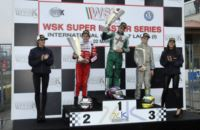 AT THE WSK SUPER MASTER SERIES IN CASTELLETTO  (PAVIA - ITALY) THE WINNERS ARE ARDIG� (I � TONY KART-VORTEX KZ2), BASZ (PL � KOSMIC-VORTEX KF), NOVALAK (GB � TONY KART-VORTEX) AND HAUGER (N � CRG-TM 60MINI).
