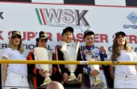 THE WINNERS OF THE WSK MASTER SERIES IN MURO LECCESE (LECCE - ITALY) ARE PUHAKKA (FIN – CRG-MAXTER KZ2), VARTANYAN (RUS – TONY KART-VORTEX KF), LUNDGAARD (DK – TONY KART-VORTEX KFJ) AND HAUGER (I – CRG-TM 60 MINI). GREAT EXPECTATIONS FOR A HEATED LAST ROU