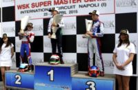 THE WSK SUPER MASTER SERIES FINISHES IN SARNO (I). THE RACE WINNERS ARE PUHAKKA (FIN – CRG-MAXTER KZ2), TIENE (I – CRG-PARILLA KF), DE PAUW (B – BIRELART-PARILLA KFJ) AND MARSEGLIA (I – ZANARDI-TM 60MINI). Gallery