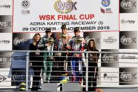 THE WSK FINAL CUP IN ADRIA (ITALY) HAS ITS WINNERS: ARDIGÒ (I – TONY KART-VORTEX KZ2), NIELSEN (DK – TONY KART-VORTEX KF), VESTI (DK – TONY KART-VORTEX KFJ) AND MICHELOTTO (ENERGY-IAME 60MINI).