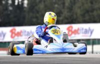 IN MURO LECCESE, ITALY, THE WSK MASTER SERIES HAS STARTED. CONVERS (F � KOSMIC-VEGA KF) AND LORANDI (I � TONY KART-VORTEX KF JUNIOR) ARE IN SUPERPOLE. ERSTAPPEN (NL � CRG-TM) AND MARTINEZ (E � CRG-LKE) ARE THE FASTEST IN KZ2 AND 60 MINI.