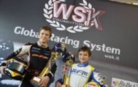 WITH 200 DRIVERS ON TRACK, THE WSK EURO SERIES BEGINS IN LA CONCA WITH THE SUPERPOLE OF ILOTT (GB � ZANARDI-PARILLA KF) AND NORRIS (GB � FA KART-VORTEX KFJ). ALSO FEDERER (I � CRG-MODENA KZ1), CELENTA (I � ZANARDI-TM KZ2) AND MARTINEZ (E - HERO-LKE 60MINI