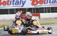 VERSTAPPEN (NL � CRG-TM KZ1) AND NEGRO (I � DR-TM KZ2) WIN TODAY'S FINAL 1 AT THE WSK EURO SERIES IN LA CONCA. GREAT DUELS IN THE OTHER CATEGORIES WHILE WAITING FOR TOMORROW'S FINALS, LIVE ON THE WEB ON WSK.IT AND STOPANDGO.TV.